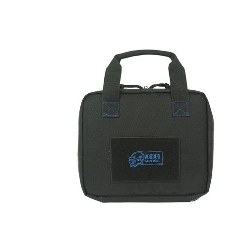 Voodoo Tactical Custom Series Pistol Case 20-9111158000 Black/Blue