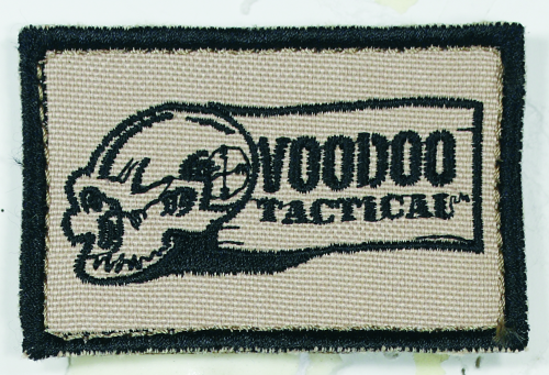Voodoo Tactical Logo Patch 20-9150025000 Sand