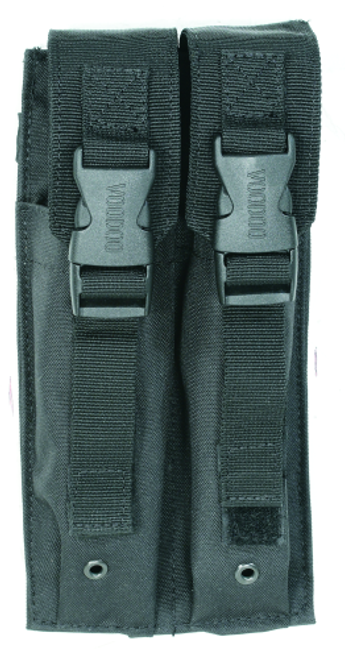 Voodoo Tactical Mp5 Mag Pouch 20-9339001000 Black Double