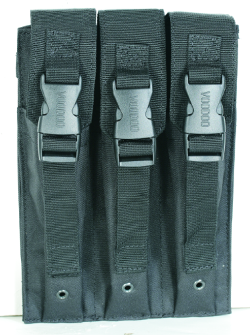 Voodoo Tactical Mp5 Mag Pouch 20-9340001000 Black Triple