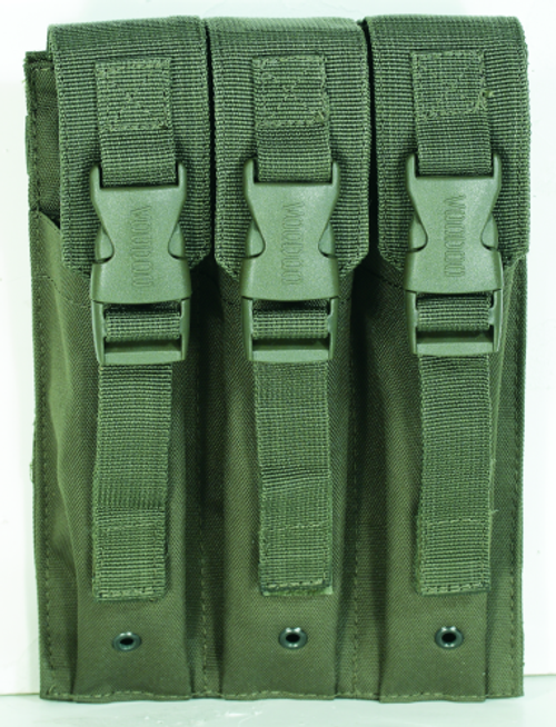 Voodoo Tactical Mp5 Mag Pouch 20-9340004000 OD Green Triple