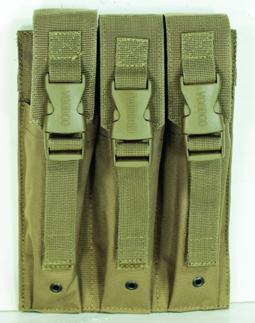 Voodoo Tactical Mp5 Mag Pouch 20-9340007000 Coyote Triple