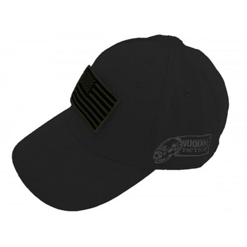 Voodoo Tactical Caps w/ Velcro Patch 20-9351001000 Black