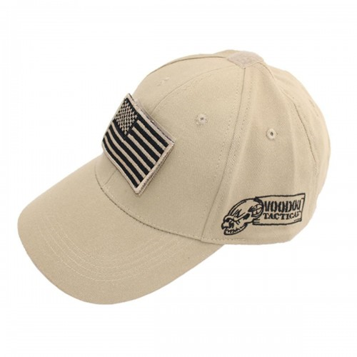 Voodoo Tactical Caps w/ Velcro Patch 20-9351025000 Sand