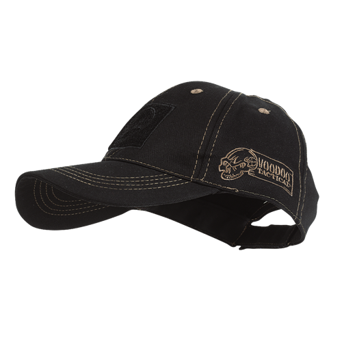 Voodoo Tactical Classic Cap with Removable Flag Patch 20-9352064000 Black/Coyote