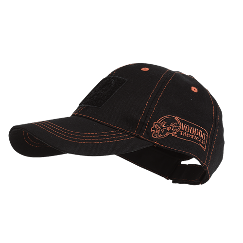 Voodoo Tactical Classic Cap with Removable Flag Patch 20-9352086000 Black/Red