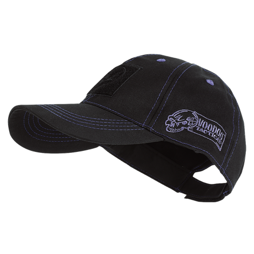 Voodoo Tactical Classic Cap with Removable Flag Patch 20-9352136000 Black/Blue