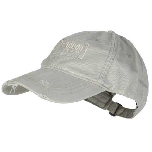 Voodoo Tactical Classic Cap with Removable Flag Patch 20-9352154000 Gray/White