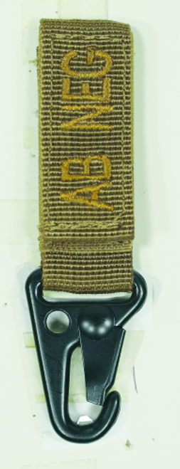 Voodoo Tactical Embroidered Blood Type Tags (AB-) 20-9729007000 Coyote