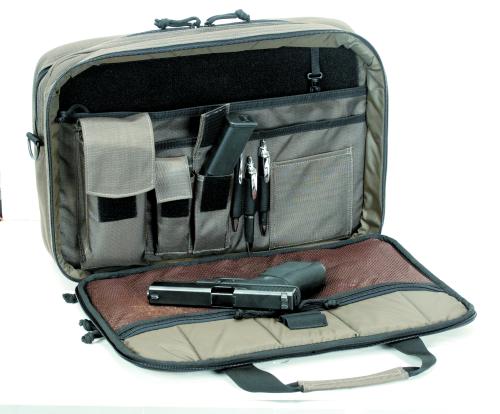 Voodoo Tactical Discreet Pro-Ops Briefcase 40-0099060000 Bronze