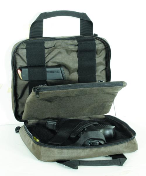 Voodoo Tactical Discreet Pistol Case 40-9100060000 Bronze