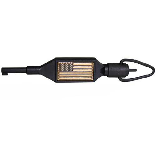 Zak Tool Swivel Key W/ Usa Flag ZAK-100