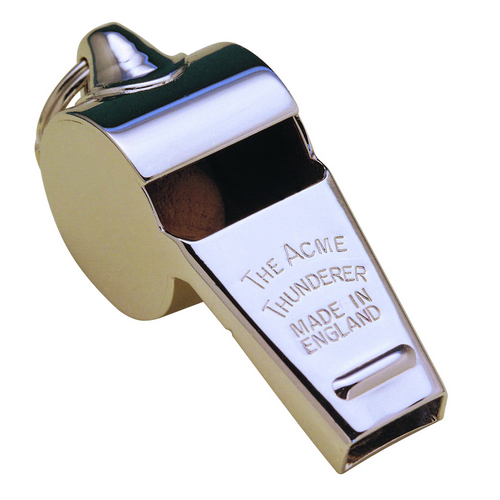 Acme Whistles Thunderer 58.5 Nickel Blister