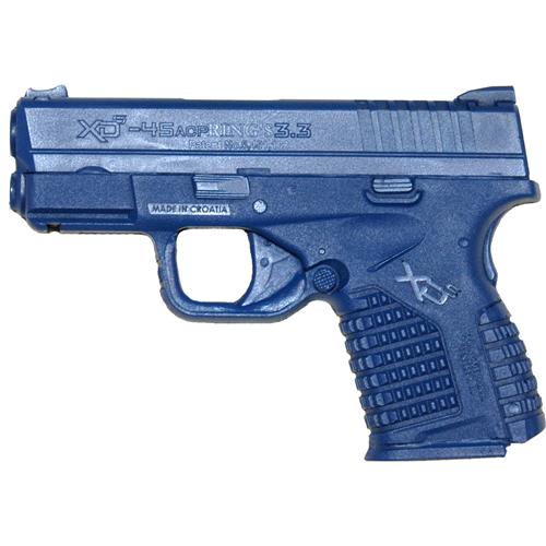 Blue Training Guns By Rings Springfield XDS 3.3  Pistol FSXDS3.3B Black No