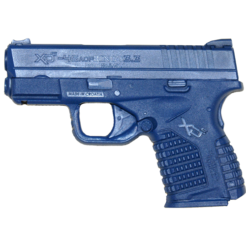 Blue Training Guns By Rings Springfield XDS 3.3  Pistol FSXDS3.3W Blue Yes