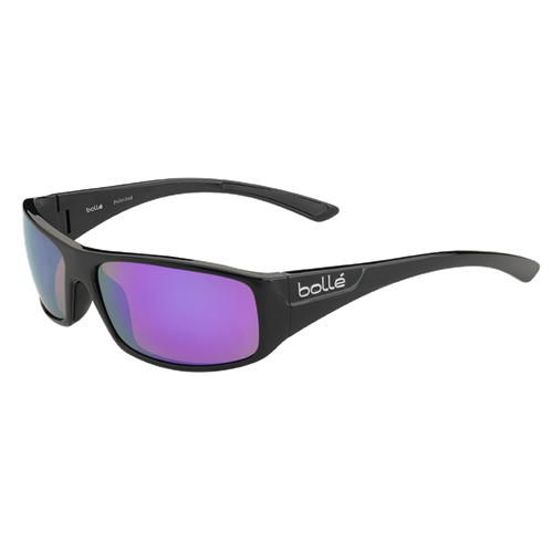 Bolle Weaver 11934 Shiny Black HD Polarized TNS