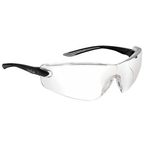 Bolle COBRA Safety Glasses 40037 Black/Gray Clear