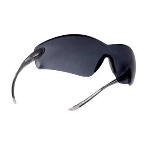 Bolle COBRA Safety Glasses 40038 Black/Gray Smoke