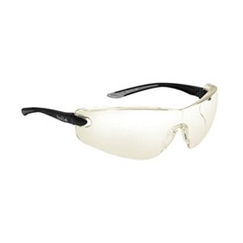 Bolle COBRA Safety Glasses 40040 Black/Gray HD