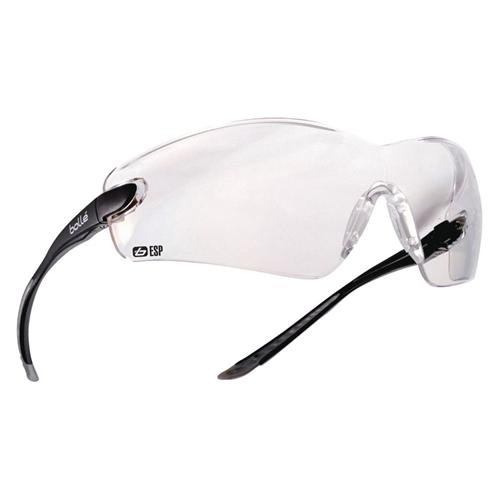 Bolle COBRA Safety Glasses 40042 Black/Gray ESP