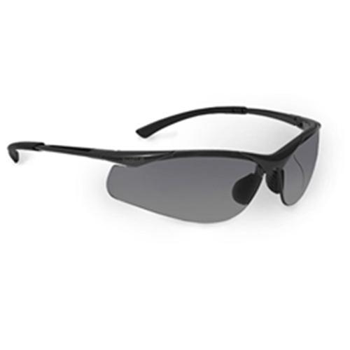 Bolle CONTOUR Safety Glasses 40045 Black/Gray Smoke