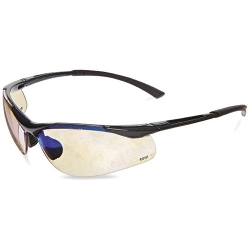 Bolle CONTOUR Safety Glasses 40047 Black/Gray ESP