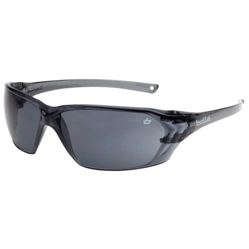 Bolle PRISM Safety Glasses 40058 Black/Gray Smoke