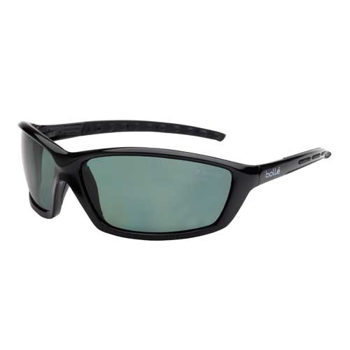 Bolle SOLIS Safety Glasses 40065 Black/Gray Black Polarized