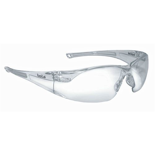 Bolle RUSH Safety Glasses 40070 Clear Clear
