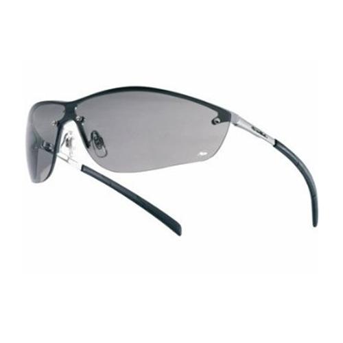 Bolle SILIUM Safety Glasses 40074 Black Smoke