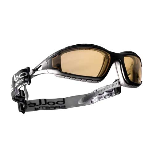 Bolle TRACKER Safety Glasses 40087 Black/Gray Yellow