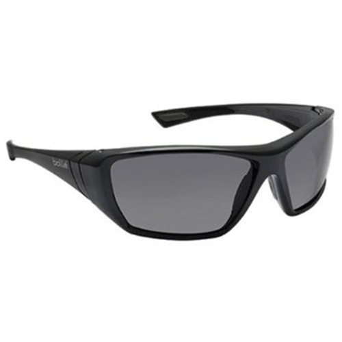Bolle HUSTLER Safety Glasses 40149 Black/Gray Smoke