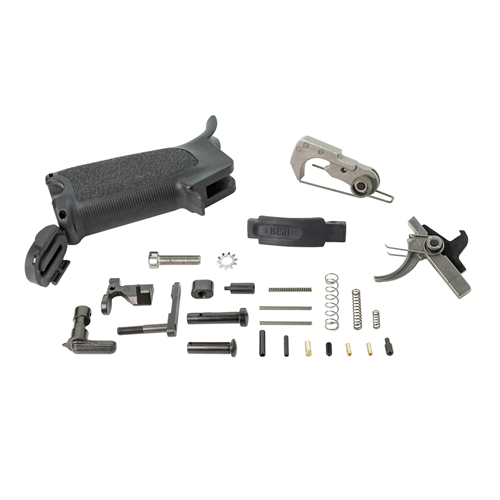 Bravo Company USA Ar15 Enhanced Lower Parts Kit BCM-ELPK-BLK 5.56x45mm Black