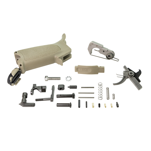 Bravo Company USA Ar15 Enhanced Lower Parts Kit BCM-ELPK-FDE 5.56x45mm Flat Dark Earth