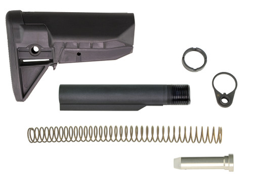Bravo Company USA BCMGUNFIGHTER Stock Kit- Mod 0 - SOPMOD - (Widebody) -Black BCM-GFSK-MOD0-SPMD-BLK