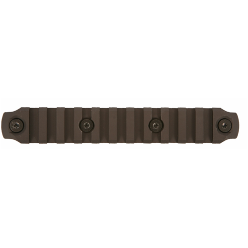 Bravo Company USA Bcmgunfighter Keymod Aluminum Rail BCM-KMR-1913-A5 Black 5.5in.