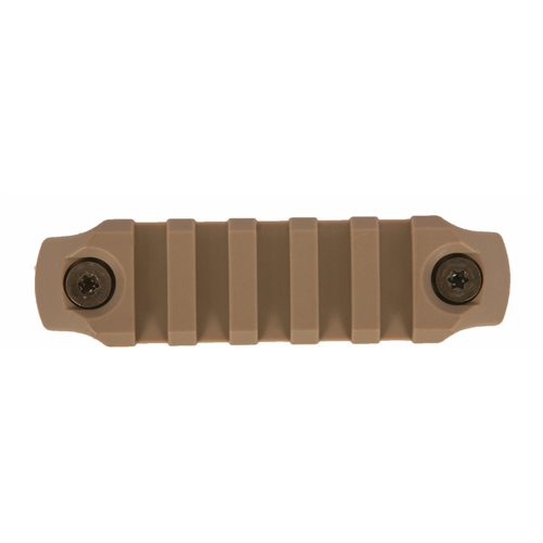 Bravo Company USA KeyMod Picatinny Nylon Rail Section BCM-KMR-1913-N3-FDE Flat Dark Earth 3in.