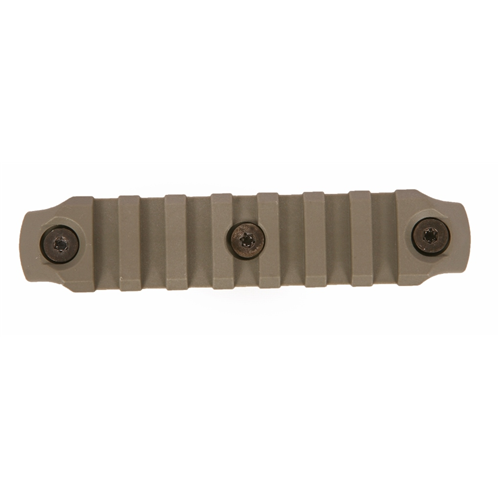Bravo Company USA KeyMod Picatinny Nylon Rail Section BCM-KMR-1913-N4-FG Foliage Green 4in.