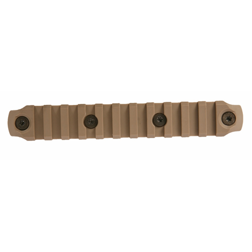 Bravo Company USA KeyMod Picatinny Nylon Rail Section BCM-KMR-1913-N5-FDE Flat Dark Earth 5.5in.
