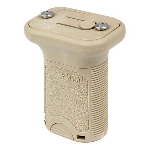 Bravo Company USA Vertical Grip KeyMod BCM-VG-S-KM-FDE Flat Dark Earth AR-15 Polymer Short
