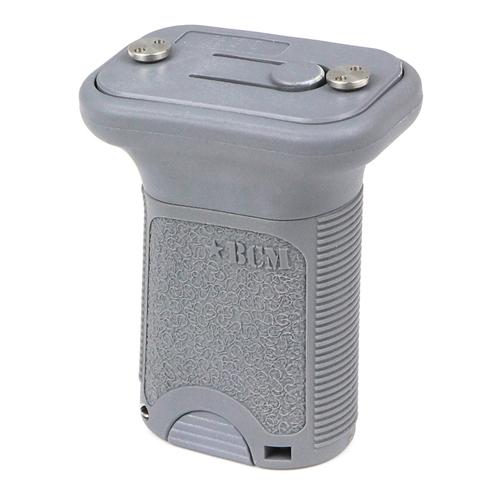 Bravo Company USA Vertical Grip KeyMod BCM-VG-S-KM-WG Wolf Gray AR-15 Polymer Short