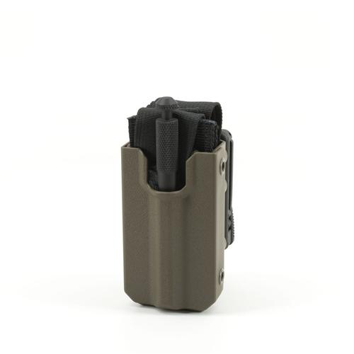 Eleven 10 Slick Front RIGID TQ Case for SOFTT/SOFTT-W E10-3012B-RGR Ranger Green Belt