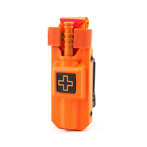 Eleven 10 RIGID TQ Case for C-A-T Gen 7 E10-3021B-ORG Rescue Orange Plain Belt