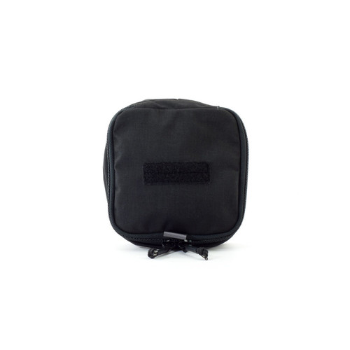 Eleven 10 6x6 Zippered Med Pouch E10-9002-BLK Black