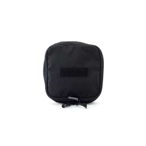 Eleven 10 4x6 Zippered Med Pouch E10-9003-BLK Black