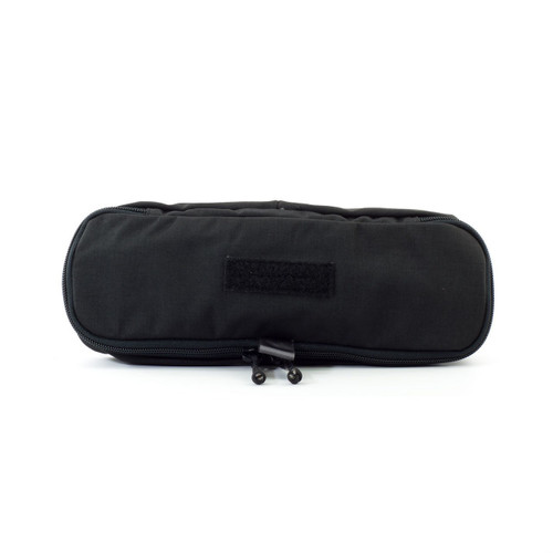 Eleven 10 4x12 Zippered Med Pouch E10-9004-BLK Black