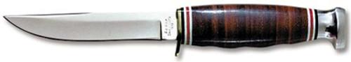 Ka-Bar Hunter Stacked Leather 1232