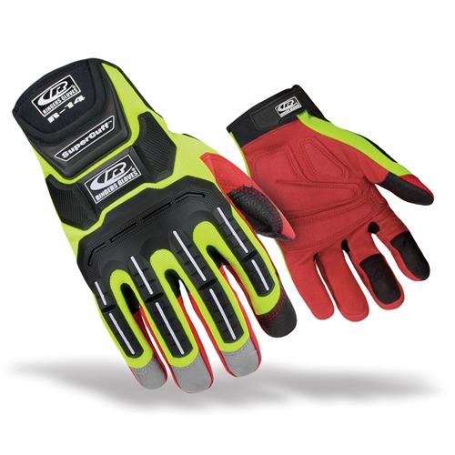 Ringers Gloves R-14 Mechanics Hi-Vis 146-09 Medium