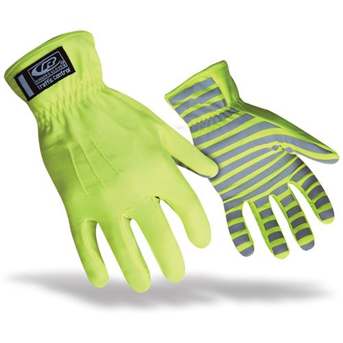Ringers Gloves Traffic Glove 307-09 Hi-Viz Yellow Medium