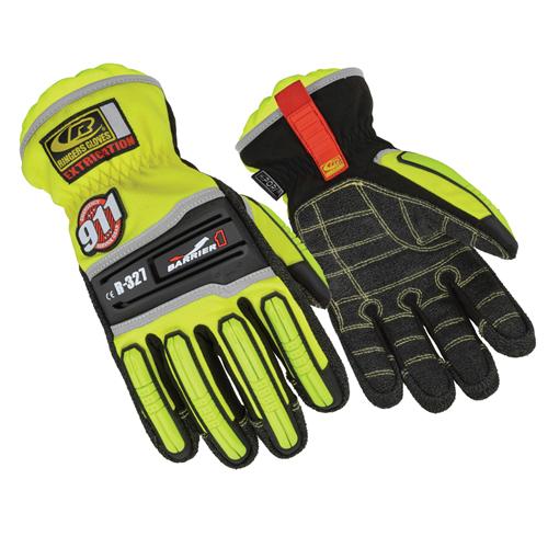 Ringers Gloves Hybrid Extrication Glove 337-11 Hi-Viz Yellow X-Large